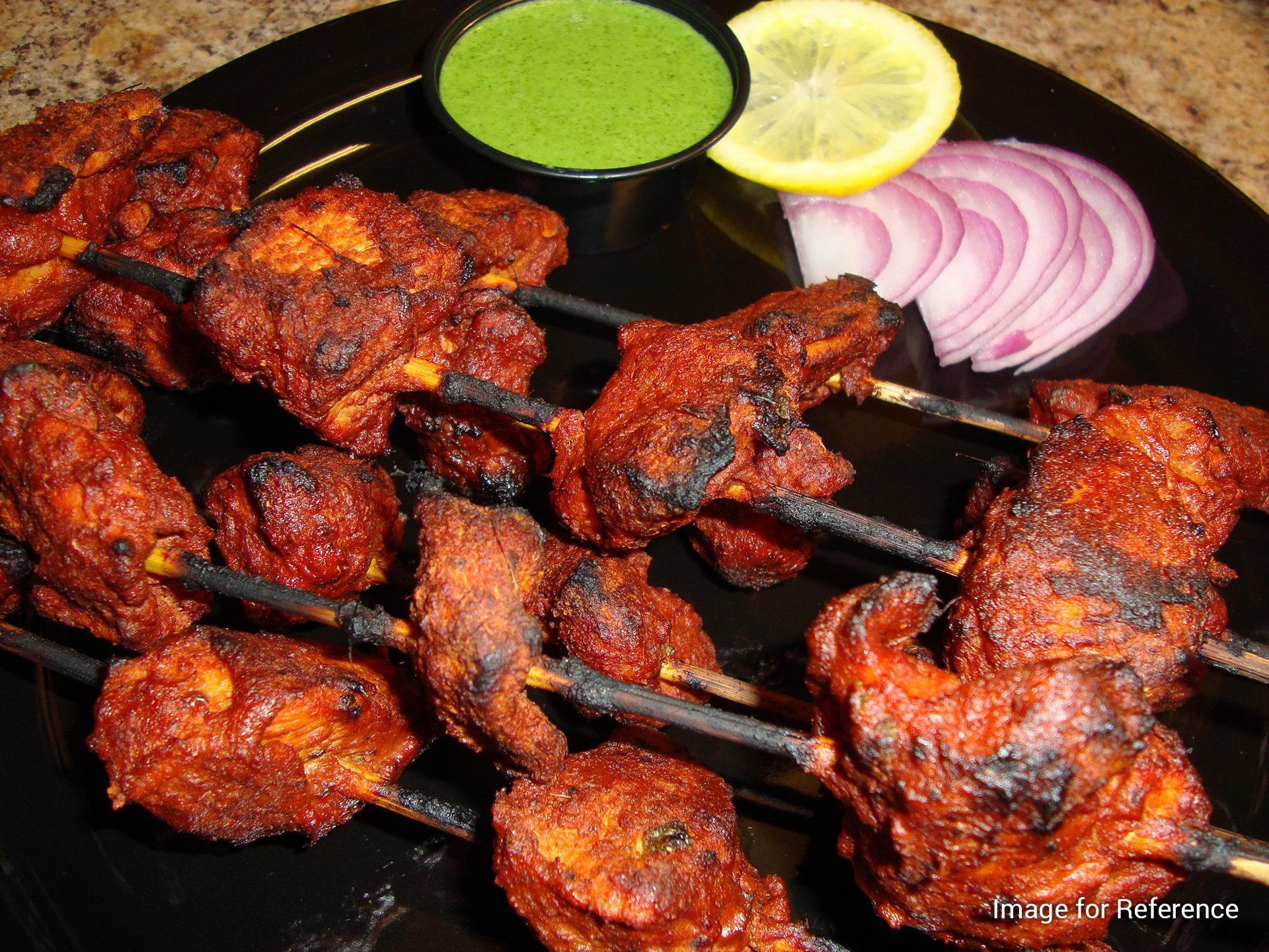Hotel Ashoka Food Park ka Tandoori Chicken, Hotel Ashoka Food Park